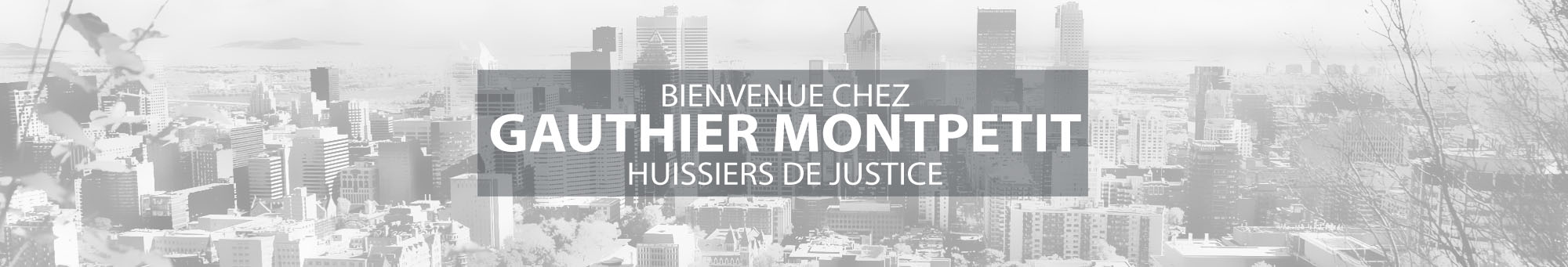 Gauthier Montpetit Huissiers
